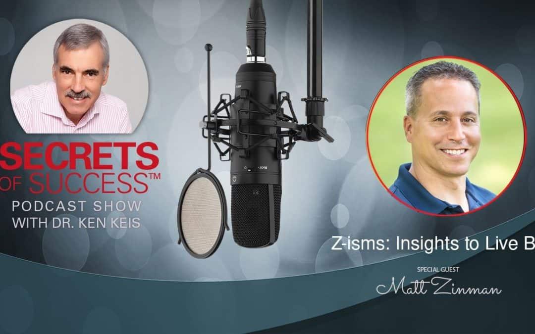 Z-isms: Insights to Live By   Matt Zinman