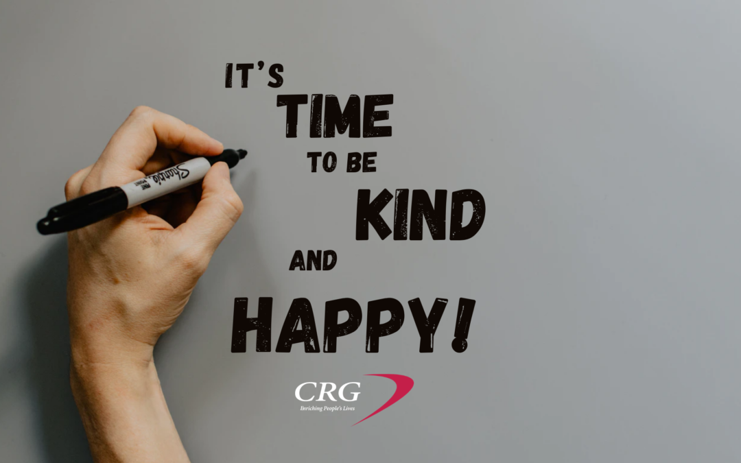 It's Time to Be Kind and Happy!