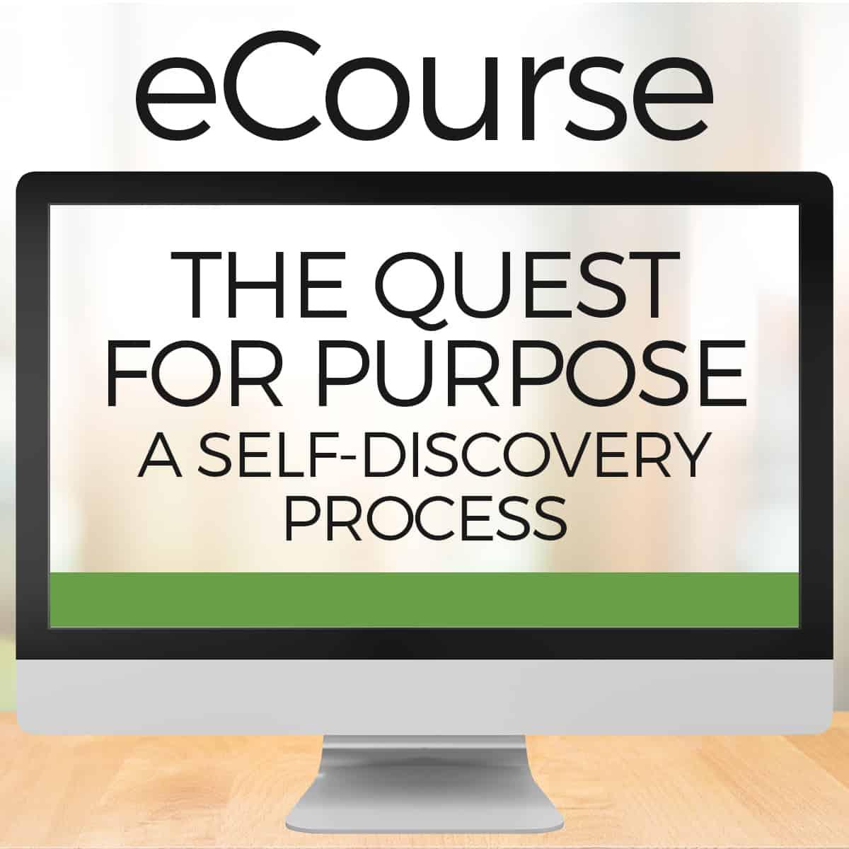 quest for purpose