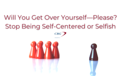 Will You Get Over Yourself—Please?