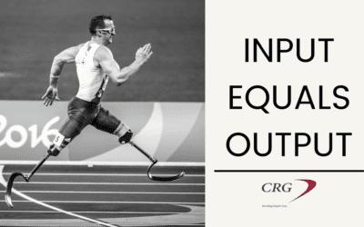 Input Equals Output
